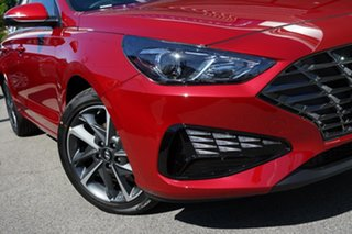 2020 Hyundai i30 PD.V4 MY21 Active Firey Red 6 Speed Sports Automatic Hatchback.