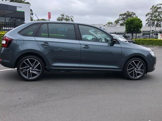 2018 Skoda Rapid NH MY18.5 Spaceback DSG Grey 7 Speed Sports Automatic Dual Clutch Hatchback