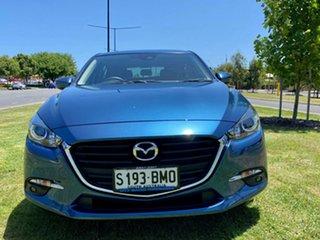 2016 Mazda 3 BN5476 Maxx SKYACTIV-MT Eternal Blue 6 Speed Manual Hatchback.
