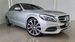 2015 Mercedes-Benz C-Class W205 C250 BlueTEC 7G-Tronic + Silver 7 Speed Sports Automatic Sedan.