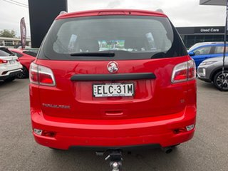 2018 Holden Trailblazer Red Automatic Wagon