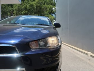 2012 Mitsubishi Lancer CJ MY12 VR Blue 5 Speed Manual Sedan