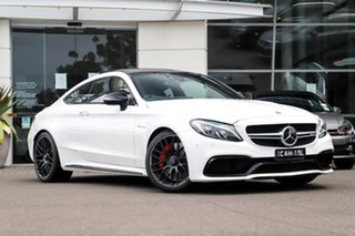 2017 Mercedes-Benz C-Class C205 807+057MY C63 AMG SPEEDSHIFT MCT S White 7 Speed Sports Automatic.