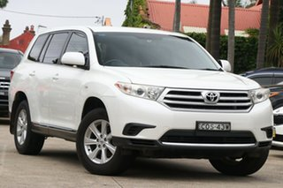 2013 Toyota Kluger GSU40R MY13 Upgrade KX-R (FWD) 7 Seat Crystal Pearl 5 Speed Automatic Wagon.