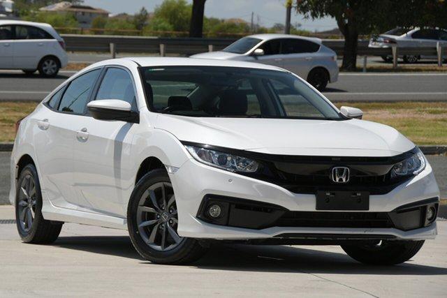 Used Honda Civic North Lakes, 2019 Honda Civic White Automatic Sedan