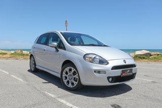 2013 Fiat Punto MY13 Lounge Dualogic Silver 5 Speed Sports Automatic Single Clutch Hatchback.