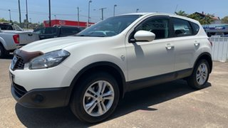 2013 Nissan Dualis J10W Series 4 MY13 ST Hatch 2WD White 6 Speed Manual Hatchback