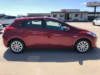 2016 Hyundai i30 GD4 SERIES II M Active Fiery Red 6 Speed Sports Automatic Hatchback.