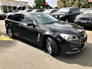 2014 Holden Commodore VF MY14 SV6 Sportwagon Black 6 Speed Sports Automatic Wagon.
