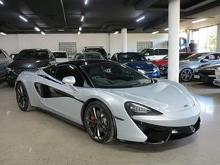 2017 McLaren 540C P13 SSG Silver 7 Speed Sports Automatic Dual Clutch Coupe.