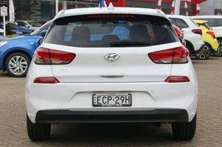 2018 Hyundai i30 PD2 Update Active Polar White 6 Speed Auto Sequential Hatchback