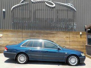 2003 Ford Fairlane BA G220 Blue 4 Speed Sports Automatic Sedan.