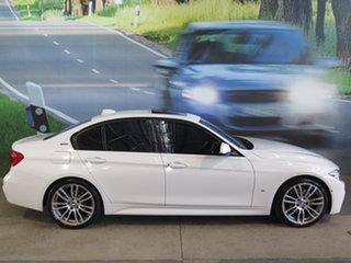 2018 BMW 3 Series F30 LCI 330e M Sport White 8 Speed Sports Automatic Sedan Hybrid.
