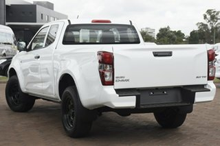 2020 Isuzu D-MAX RG MY21 SX Space Cab 4x2 High Ride Mineral White 6 Speed Sports Automatic Utility.