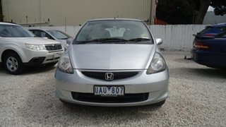2005 Honda Jazz GD MY05 GLi Silver 1 Speed Constant Variable Hatchback