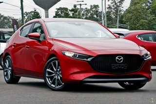 2020 Mazda 3 BP2HLA G25 SKYACTIV-Drive Evolve Red 6 Speed Sports Automatic Hatchback.
