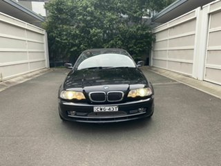2002 BMW 3 Series E46 MY2002 330Ci Steptronic Black 5 Speed Sports Automatic Convertible.