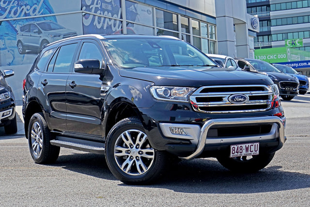 Used Ford Everest UA Trend Springwood, 2015 Ford Everest UA Trend Black 6 Speed Sports Automatic SUV