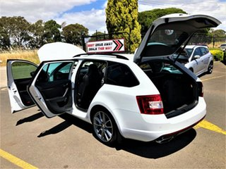 2015 Skoda Octavia NE MY16 RS DSG 162TSI White 6 Speed Sports Automatic Dual Clutch Wagon