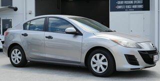 2010 Mazda 3 BL10F1 MY10 Neo Silver 6 Speed Manual Sedan.