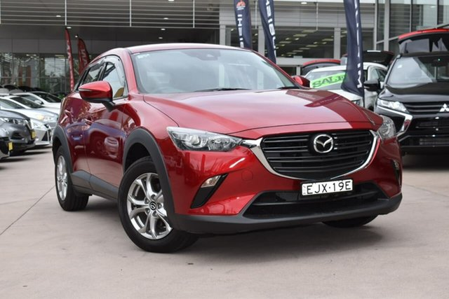 Used Mazda CX-3 DK2W7A Maxx SKYACTIV-Drive FWD Sport Blacktown, 2020 Mazda CX-3 DK2W7A Maxx SKYACTIV-Drive FWD Sport Red 6 Speed Sports Automatic Wagon