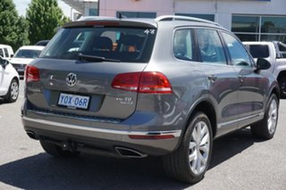 2016 Volkswagen Touareg 7P MY17 V6 TDI Tiptronic 4MOTION Grey 8 Speed Sports Automatic Wagon