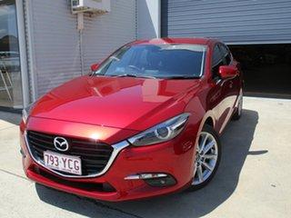 2018 Mazda 3 BN5438 SP25 SKYACTIV-Drive GT Red 6 Speed Sports Automatic Hatchback.