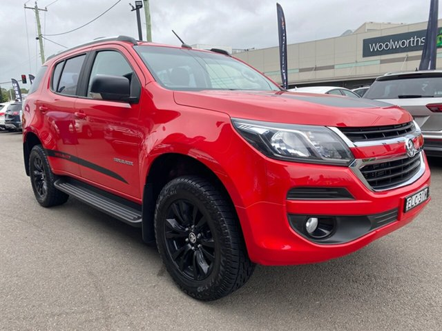 Used Holden Trailblazer Cardiff, 2018 Holden Trailblazer Red Automatic Wagon