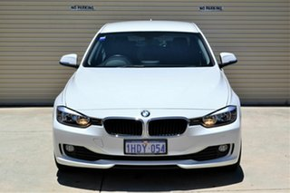 2013 BMW 3 Series F30 MY0813 316i White 8 Speed Automatic Sedan.