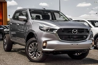 2020 Mazda BT-50 TFR40J XT 4x2 Silver 6 Speed Sports Automatic Cab Chassis.