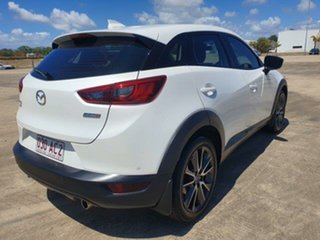 2017 Mazda CX-3 DK4WSA sTouring SKYACTIV-Drive i-ACTIV AWD White 6 Speed Sports Automatic Wagon.