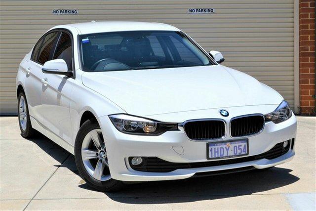 Used BMW 3 Series F30 MY0813 316i Mount Lawley, 2013 BMW 3 Series F30 MY0813 316i White 8 Speed Automatic Sedan