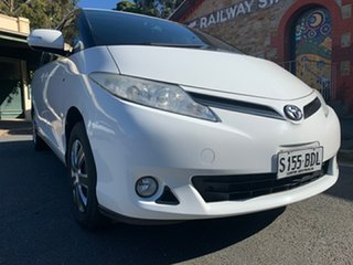 2011 Toyota Tarago ACR50R MY09 GLi White 4 Speed Sports Automatic Wagon