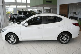 2021 Mazda 2 DL2SAA G15 SKYACTIV-Drive GT Snowflake White 6 Speed Sports Automatic Sedan.