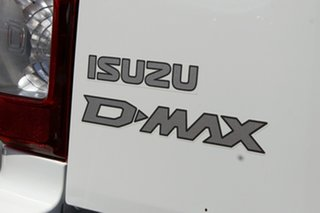 2020 Isuzu D-MAX RG MY21 SX Space Cab 4x2 High Ride Mineral White 6 Speed Sports Automatic Utility