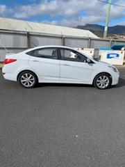 2017 Hyundai Accent RB6 MY18 Sport White 6 Speed Sports Automatic Sedan.