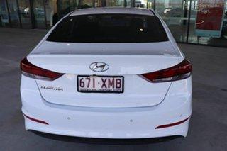 2017 Hyundai Elantra AD MY18 Active Ceramic White 6 Speed Sports Automatic Sedan