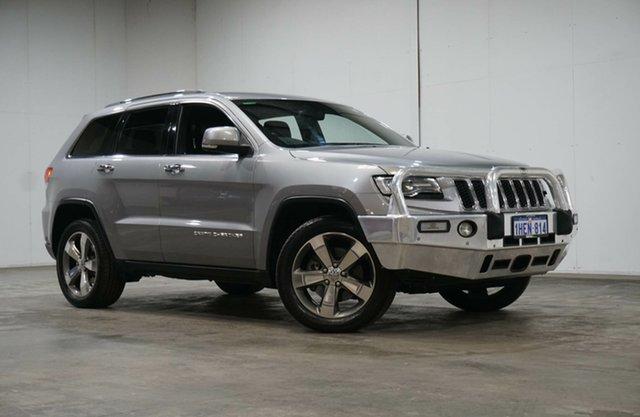 Used Jeep Grand Cherokee WK MY15 Limited Welshpool, 2016 Jeep Grand Cherokee WK MY15 Limited Grey 8 Speed Sports Automatic Wagon