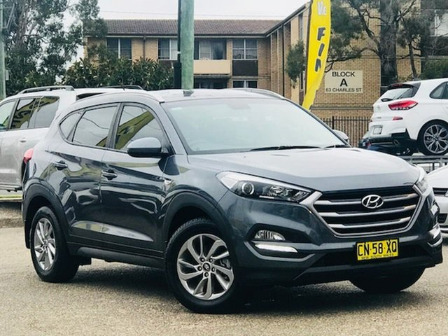 Used Hyundai Tucson TLe MY17 Active 2WD Liverpool, 2017 Hyundai Tucson TLe MY17 Active 2WD Grey 6 Speed Sports Automatic Wagon