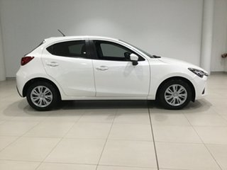 2015 Mazda 2 DJ2HA6 Neo SKYACTIV-MT White 6 Speed Manual Hatchback.