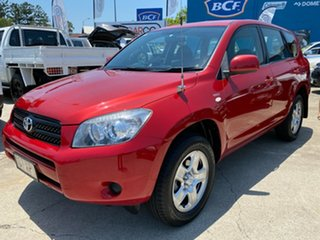 2006 Toyota RAV4 ACA33R CV Red 5 Speed Manual Wagon.