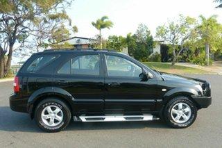 2008 Kia Sorento BL MY08 LX Black 5 Speed Manual Wagon.