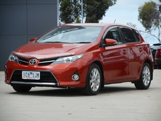 2014 Toyota Corolla ZRE182R Ascent Sport S-CVT Inferno Red 7 Speed Constant Variable Hatchback