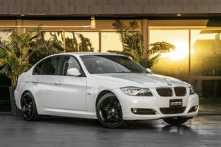 2009 BMW 3 Series E90 MY09 320i Steptronic Executive White 6 Speed Sports Automatic Sedan.