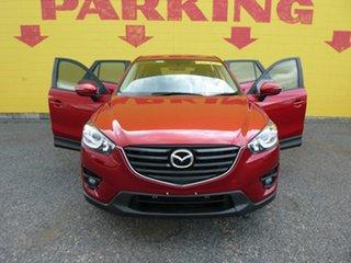 2016 Mazda CX-5 KE1072 Maxx SKYACTIV-Drive FWD Sport Red 6 Speed Sports Automatic Wagon.