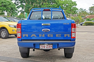 2020 Ford Ranger PX MkIII 2020.25MY XLS Blue Lightning 6 Speed Sports Automatic Double Cab Pick Up