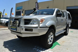 2008 Toyota Hilux KUN16R 08 Upgrade SR Silver 5 Speed Manual Dual Cab Pick-up