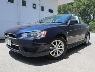 2012 Mitsubishi Lancer CJ MY12 VR Blue 5 Speed Manual Sedan.