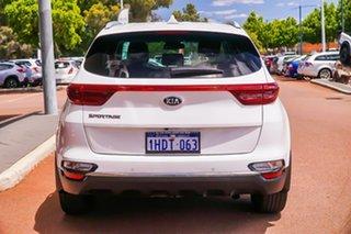 2019 Kia Sportage QL MY19 SLi 2WD White 6 Speed Sports Automatic Wagon.