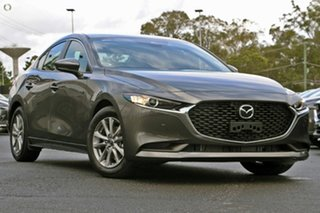 2020 Mazda 3 BP2S7A G20 SKYACTIV-Drive Pure Grey 6 Speed Sports Automatic Sedan.